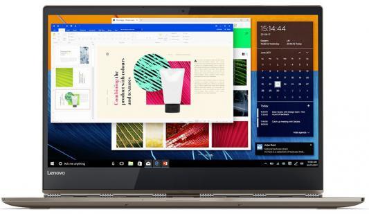 """Ноутбук Lenovo IdeaPad YOGA 920-13IKB 13.9"""" 1920x1080 Intel Core i7-8550U 80Y7001RRK цена и фото"""
