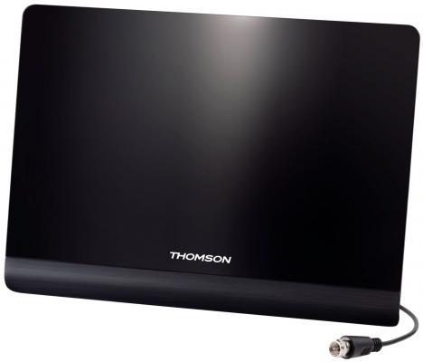 Антенна телевизионная Thomson ANT1425 50дБ активная черный каб.:1.8м антенны телевизионные ritmix антенна телевизионная
