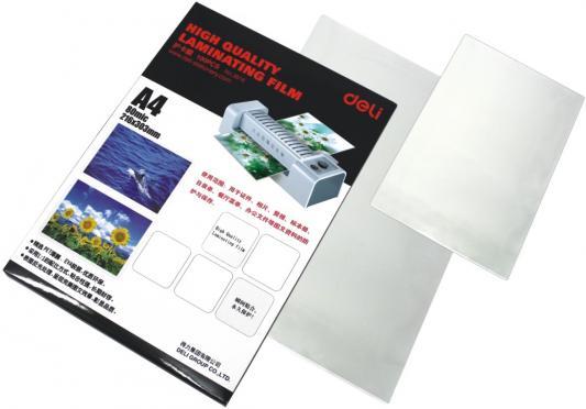 Фото - Пленка для ламинирования Deli E3816 А4 80мкм 100шт deli e7817 белый