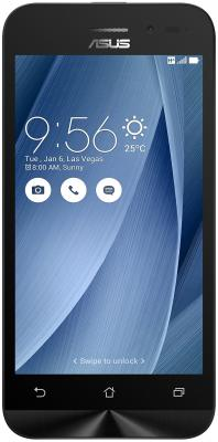 Смартфон ASUS Zenfone Go ZB452KG серебристый 4.5 8 Гб GPS 3G Wi-Fi 90AX0149-M02070 смартфон asus zenfone live zb501kl золотистый 5 32 гб lte wi fi gps 3g 90ak0072 m00140