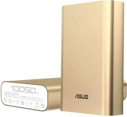 Портативное зарядное устройство Asus ZenPower ABTU005 10050mAh 1xUSB золотистый 90AC00P0-BBT078 цена и фото