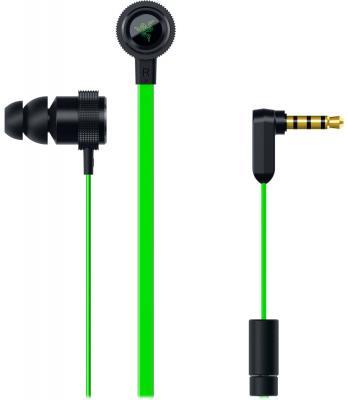 лучшая цена Гарнитура Razer Hammerhead V2 зеленый RZ12-01730100-R3G1