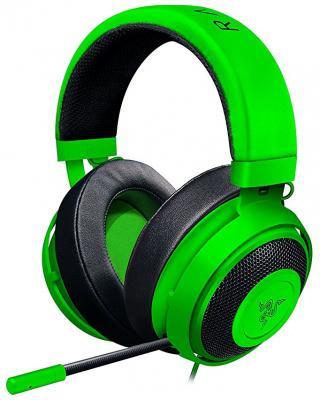 Игровая гарнитура проводная Razer Kraken Pro V2 Oval зеленый RZ04-02050600-R3M1 razer kraken pro v2 quartz edition rz04 02050900 r3m1