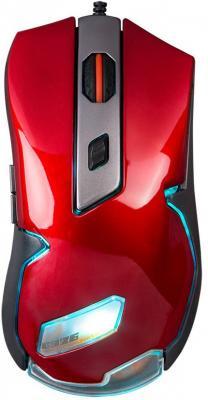 лучшая цена Мышь проводная Marvo G926 красный USB
