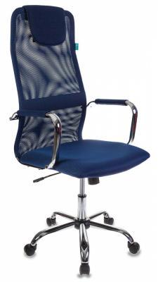 Кресло Бюрократ KB-9/DB/TW-10N синий кресло бюрократ престиж ткань [престиж синий]