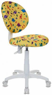 Кресло детское Бюрократ KD-W6/DINO-Y желтый динозаврики kd 8 dino bl