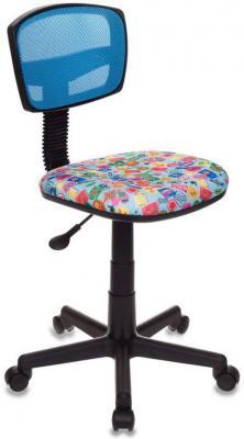 Кресло детское Бюрократ CH-299/LB/MARK-LB голубой марки