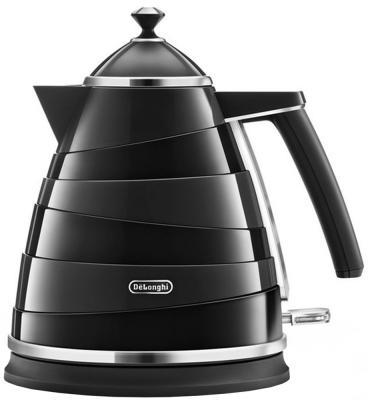 Чайник DeLonghi KBA2001 2000 Вт чёрный 1.7 л пластик