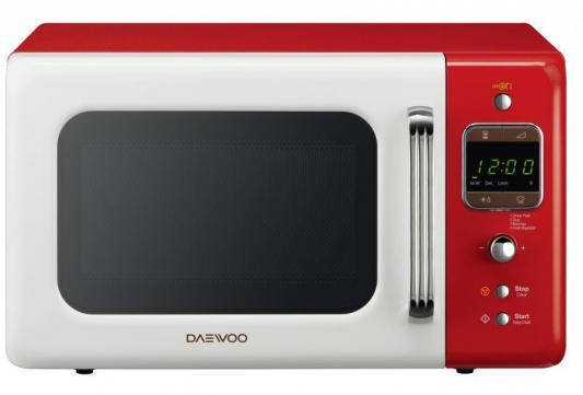 СВЧ DAEWOO KOR-6LBRWR 800 Вт красный белый daewoo kor 662bw белый