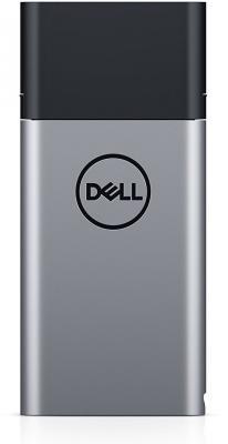 лучшая цена Портативное зарядное устройство Dell PH45W17-CA 12800mAh 2xUSB черный/серебристый 450-AGHQ