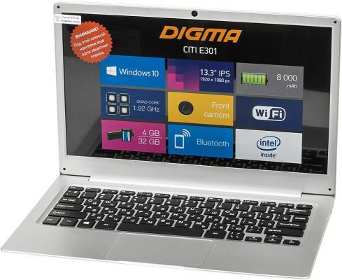 Ноутбук Digma CITI E301 (ES3008EW) ноутбук digma citi e302 es3009ew