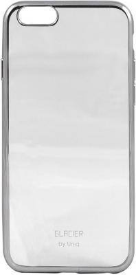 Чехол силиконовый Uniq Glasier Glitz для iPhone 6/6S gunmetal