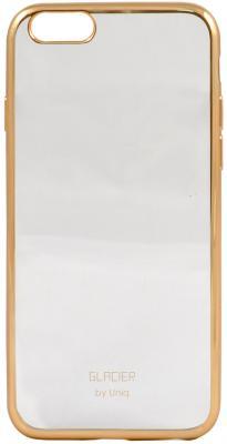 Чехол силиконовый Uniq Glasier Glitz для iPhone 6/6S gold