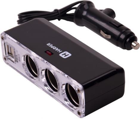 Разветвитель прикуривателя Harper DP-096 разветвитель прикуривателя digma dcn 12p2 черный