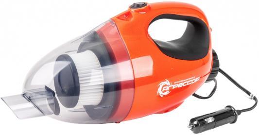 Автомобильный пылесос Агрессор AGR-110H 2in1 сухая уборка оранжевый