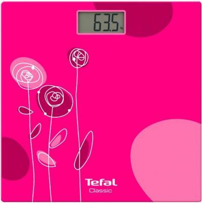 Весы напольные Tefal PP1147V0 розовый весы напольные tefal pp1221v0 белый