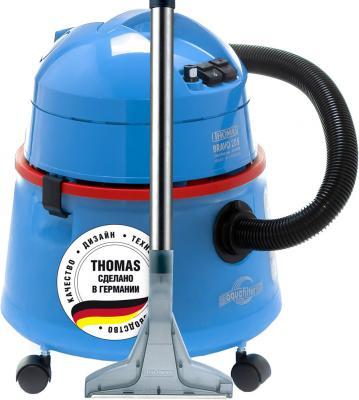 Пылесос Thomas Bravo 20 сухая влажная уборка синий