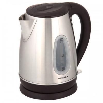 Чайник электрический Supra KES-1839W 2200 Вт Нержавеющая сталь 1.8 л нержавеющая сталь чайник электрический supra kes 1839w черный 1 8 л 2200 вт