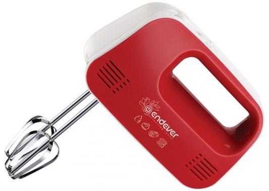 Миксер ручной ENDEVER Sigma 04 250 Вт красный белый endever sigma 08