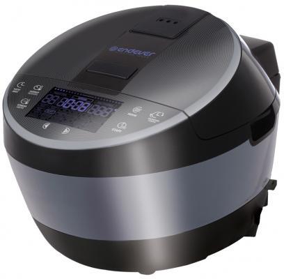 Мультиварка ENDEVER Vita 100 черный сталь 1300 Вт 5 л мультиварка endever vita 100