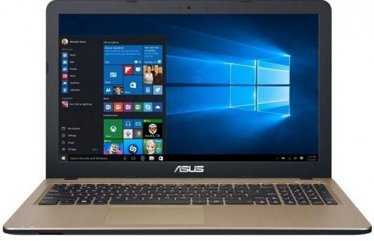 Ноутбук ASUS R541NA-GQ448T 15.6 1366x768 Intel Celeron-N3350 90NB0E81-M08300 ноутбук asus x553sa xx137d 15 6 intel celeron n3050 1 6ghz 2gb 500tb hdd 90nb0ac1 m05820