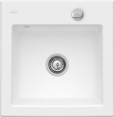 Мойка Villeroy & Boch S3 Edelweiss CeramicPlus керамика белый