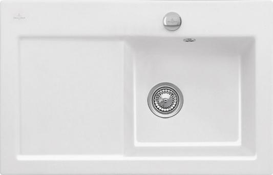 Мойка Villeroy & Boch R1 White Alpin CeramicPlus керамика белый