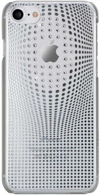 Панель Bling My Thing Warp Deluxe для iPhone 8 only silver