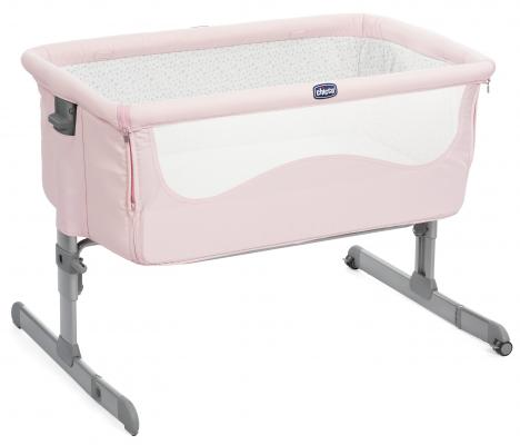 Кроватка Chicco Next2me (french rose) цена