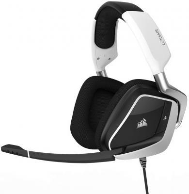 Игровая гарнитура проводная Corsair Gaming Gaming VOID PRO Surround белый CA-9011155-EU