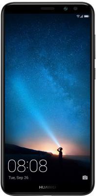 Смартфон Huawei Nova 2i черный 5.9 64 Гб LTE Wi-Fi GPS 51091YGB смарт часы huawei 2 sport bt leo bx9 carbon черный 55021794
