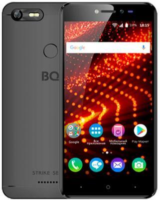 Смартфон BQ BQ-5204 Strike Selfie черный 5.2 8 Гб Wi-Fi GPS 3G BQS-5204-BLK смартфон bq bq 5510 strike power max 4g золотистый mediatek mt6737 1гб 8 гб 5 5 1280x720 13mpix dualsim 3g 4g bt android 7 0