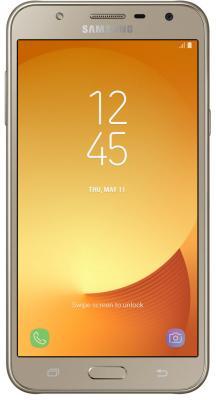 Смартфон Samsung Galaxy J7 Neo 16 Гб золотистый (SM-J701FZDDSER)