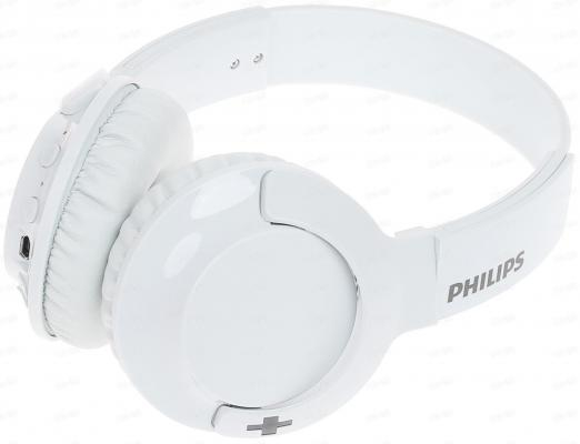 Гарнитура Philips SHB3075WT белый гарнитура philips fidelio f1