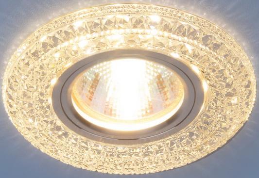 Встраиваемый светильник Elektrostandard 2160 MR16 CL прозрачный 4690389074059