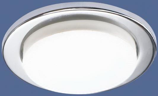 Встраиваемый светильник Elektrostandard 1035 GX53 CH хром 4690389065156 встраиваемый светильник elektrostandard 1066 gx53 ch хром 4690389078682