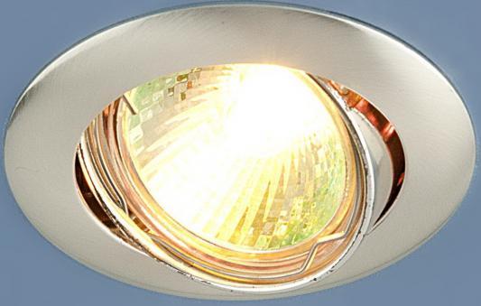 Встраиваемый светильник Elektrostandard 104S MR16 SS сатин серебро 4690389060281