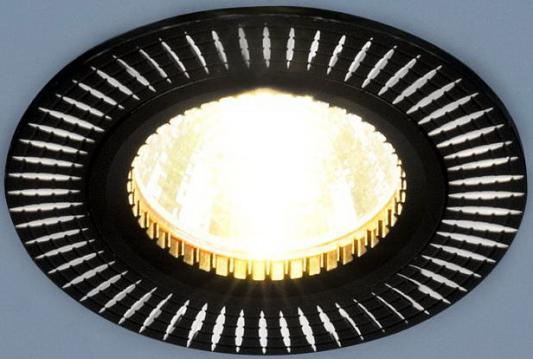 Встраиваемый светильник Elektrostandard 2003 MR16 BK/SL черный/серебро 4690389060441