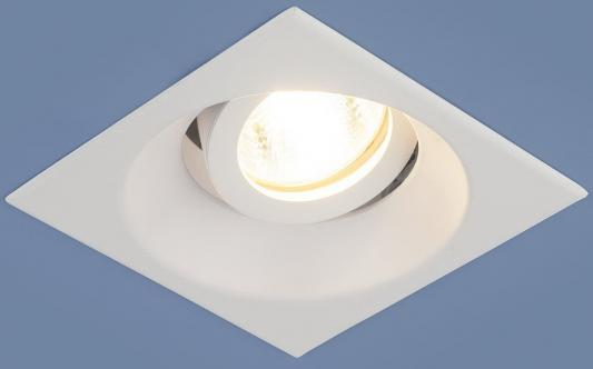 Встраиваемый светильник Elektrostandard 6069 MR16 WH белый 4690389097980 встраиваемый светильник elektrostandard 2008 mr16 wh белый 4690389066405