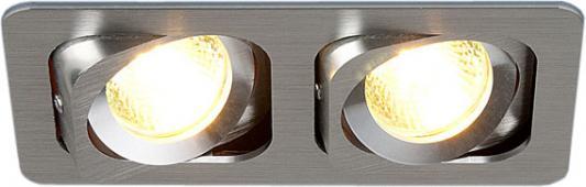 Встраиваемый светильник Elektrostandard 1021/2 MR16 CH хром 4690389055812 встраиваемый светильник elektrostandard техно 1021 1