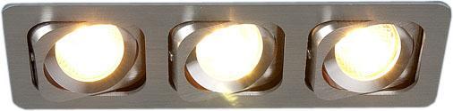 Встраиваемый светильник Elektrostandard 1021/3 MR16 CH хром 4690389056253 таис сияющая 2019 01 13t19 00