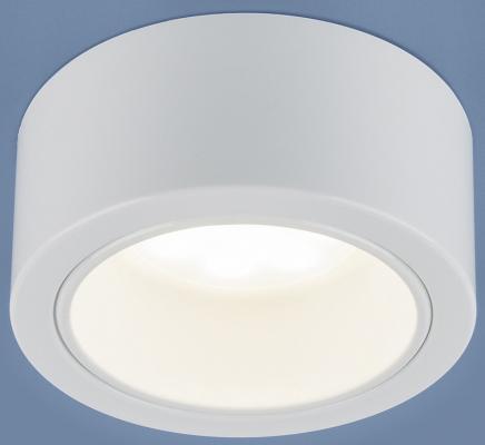 Накладной светильник Elektrostandard 1070 GX53 WH белый 4690389087530 накладной светильник elektrostandard 1070 gx53 wh белый 4690389087530
