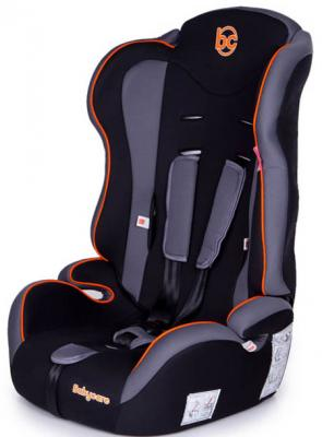 Автокресло Baby Care Upiter (black-orange) автокресло baby care legion grey 1023 black