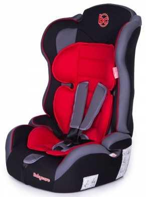 Автокресло Baby Care Upiter Plus (black-red) автокресло happy baby joss beige