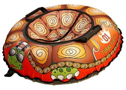 "Тюбинг R-Toys "",Эксклюзив Турбо черепаха"", оранжевый ПВХ ткань"