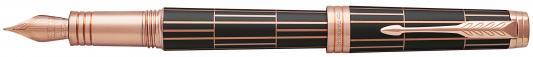 Перьевая ручка Parker Premier F565 Luxury Brown PG F 1931397 ручка перьевая parker premier fountain pen medium point