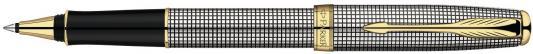 Ручка-роллер Parker Sonnet Т534 черный F S0808160_S стержень роллер parker parker s0168630 черный m