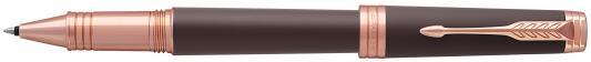Ручка-роллер Parker Premier T560 Soft Brown PGT черный F 1931407 ручка шариковая parker premier soft k560 1876397 brown pgt m чернила черный ювелирная латунь