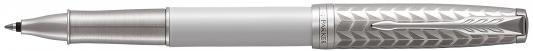 Ручка-роллер Parker Sonnet T540 Metal&Pearl PGT CT черный F 1931549 ручка роллер parker im metal t220 s0856410 gun metal ct f черные чернила подар кор