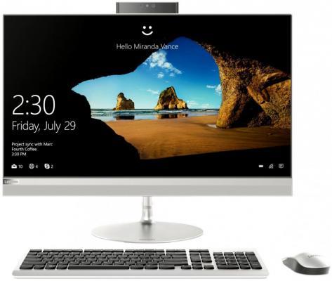Моноблок 27 Lenovo AIO520-27IKL 2560 x 1440 Intel Core i3-7100T 4Gb 1 Tb nVidia GeForce GT 940МХ 2048 Мб Windows 10 Home серебристый F0D0000GRK